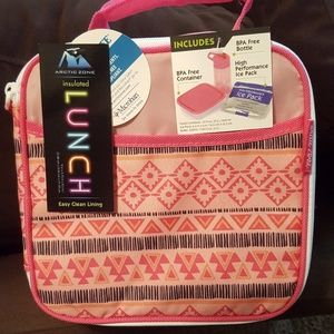 NEW!!! Girl's Artic Zone Insulated Lunch Tote